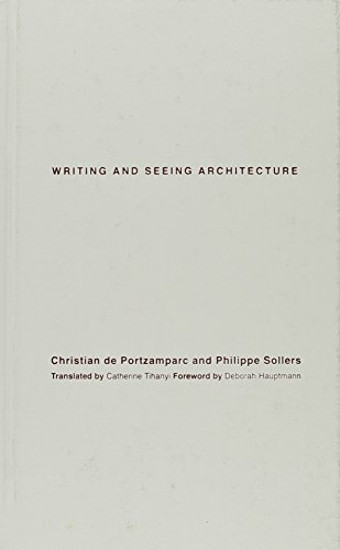 9780816645671: Writing and Seeing Architecture