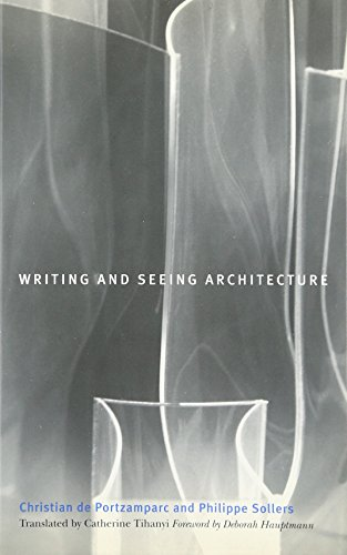 9780816645688: Writing and Seeing Architecture