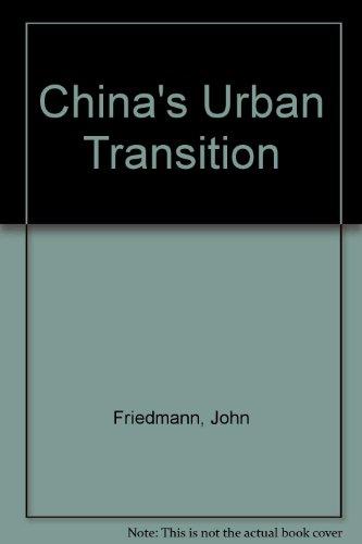 9780816646142: China's Urban Transition
