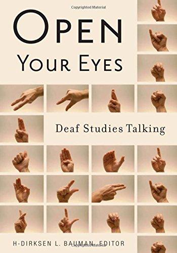 9780816646180: Open Your Eyes: Deaf Studies Talking