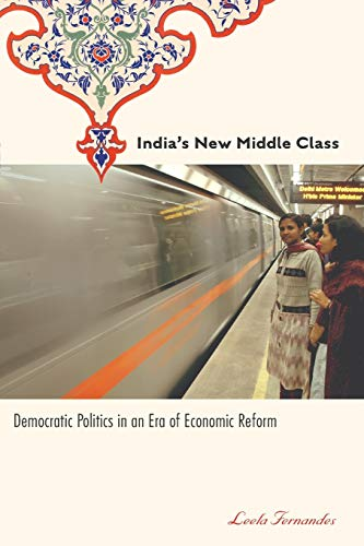 9780816649280: India's New Middle Class: Democratic Politics in an Era of Economic Reform