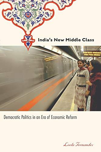 9780816649280: India's New Middle Class: Democratic Politics in an Era of Economic Reform