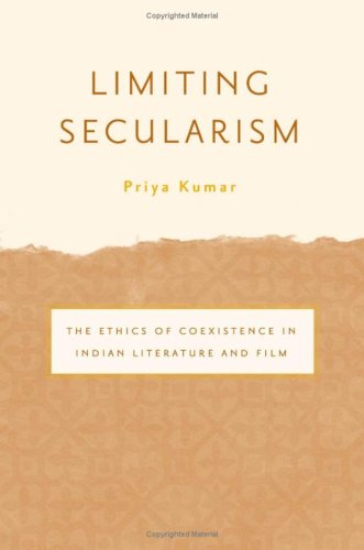 Limiting Secularism: The Ethics of Coexistence in: Kumar, Priya