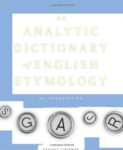 9780816652723: An Analytic Dictionary of English Etymology: An Introduction