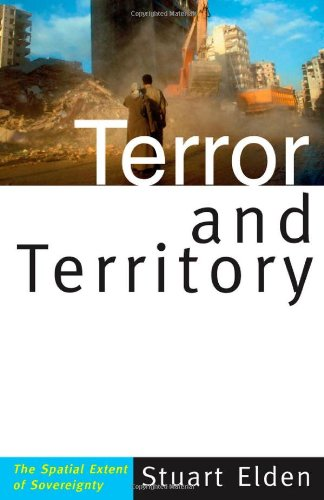9780816654833: Terror and Territory: The Spatial Extent of Sovereignty