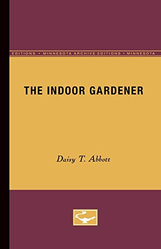 9780816659319: The Indoor Gardener