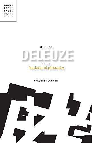 9780816665501: Gilles Deleuze and the Fabulation of Philosophy: 1