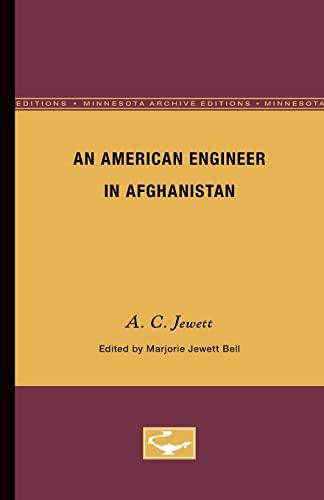 An American Engineer in Afghanistan (Minne): Bell, Marjorie