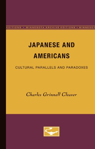 9780816668465: Japanese and Americans: Cultural Parallels and Paradoxes