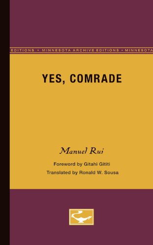 9780816669325: Yes, Comrade (Exxon Lecture Series)