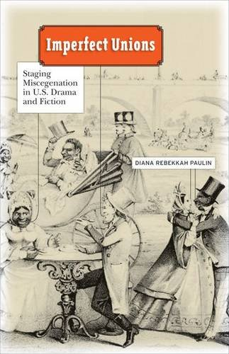 Imperfect Unions: Staging Miscegenation in U.S. Drama and Fiction (Hardback): Diana Rebekkah Paulin