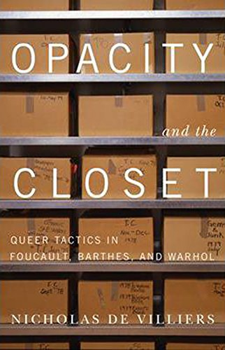 Opacity and the Closet: Queer Tactics in Foucault, Barthes, and Warhol: de Villiers, Nicholas