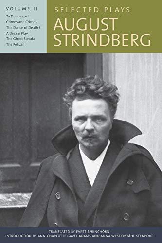 Selected Plays: Strindberg, August