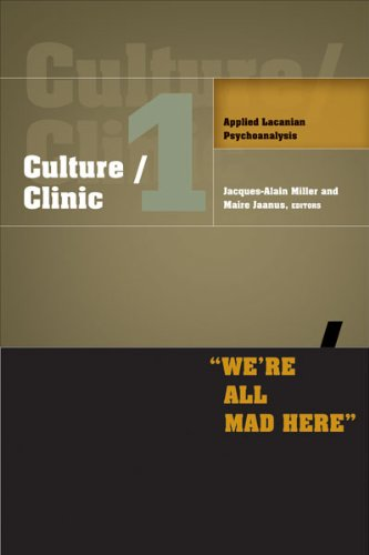 9780816683192: Culture/Clinic 1: Applied Lacanian Psychoanalysis