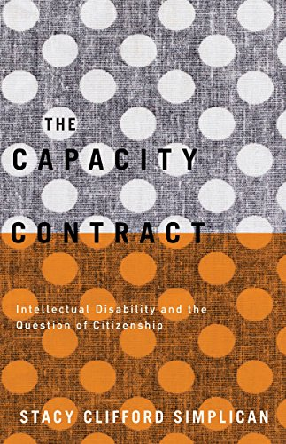 9780816694037: The Capacity Contract: Intellectual Disability and the Question of Citizenship