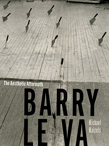 9780816694693: Barry Le Va: The Aesthetic Aftermath