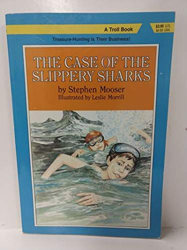 9780816711789: The Case of the Slippery Sharks