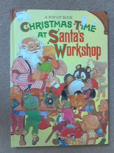 Christmas Time at Santa's Workshop (A Troll Pop-Up Book)