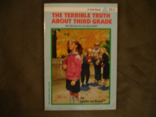 9780816723836: The Terrible Truth About Third Grade (Making the Grade)