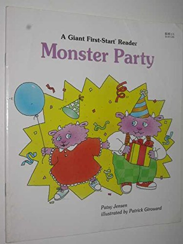 9780816731855: Monster Party (Giant First-Start Reader Series)