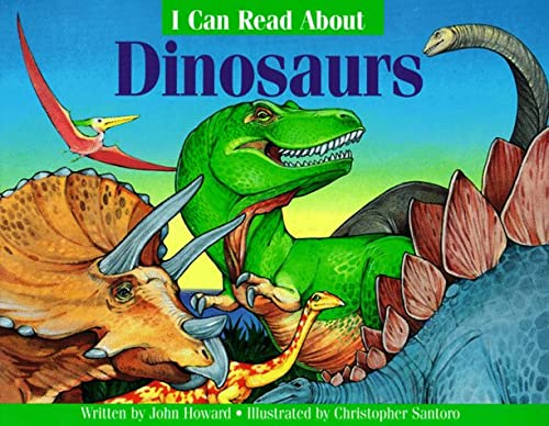 9780816736393: I can Read About Dinosaurs