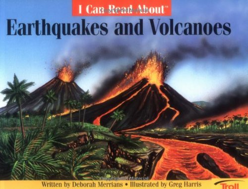 9780816736492: I Can Read About Earthquakes and Volcanoes