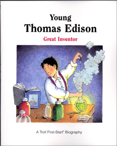 9780816737772: Young Thomas Edison: Great Inventor (First-Start Biographies)