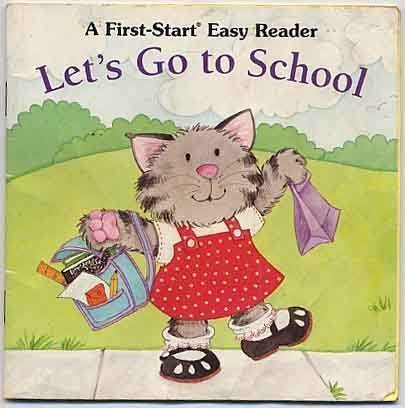 9780816738533: Let's Go to School (First-Start Easy Reader)