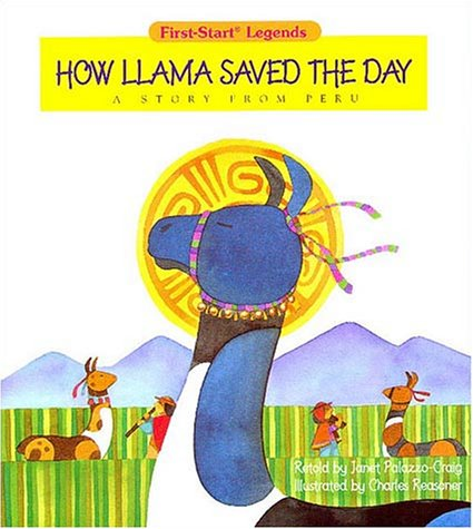 9780816739929: How Llama Saved The Day - Pbk