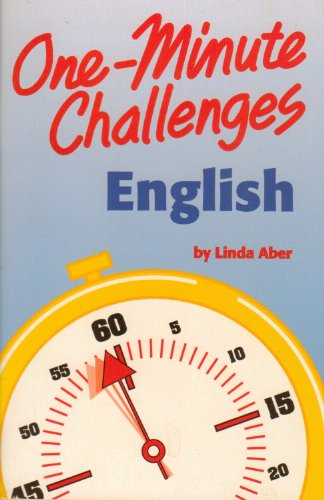 9780816740765: One Minute Challenges English (One Minute Challenges)