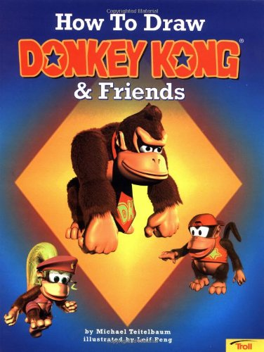 9780816742356: How To Draw Donkey Kong & Friends (How to Draw (Troll))