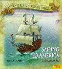 9780816745555: Sailing To America - Colonists at Sea (Adventures in Colonial America)