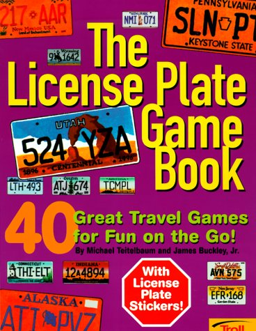 9780816756322: License Plate Game Book