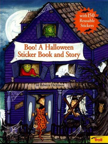 9780816765294: Boo! a Halloween Sticker Book and Story
