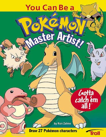 You Can Be a Pokemon Master Artist (How to Draw): Zalme