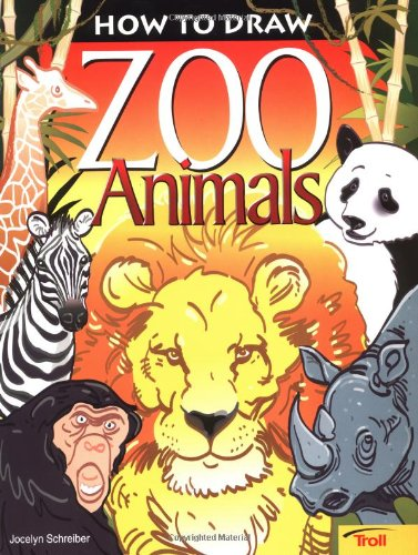 9780816769865: How To Draw Zoo Animals