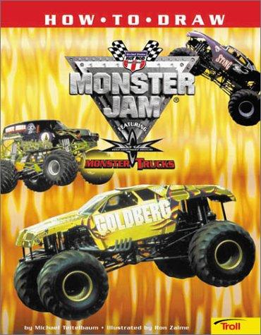9780816770151: How to Draw Monster Jam: Featuring World Championship Wrestling Monster Trucks