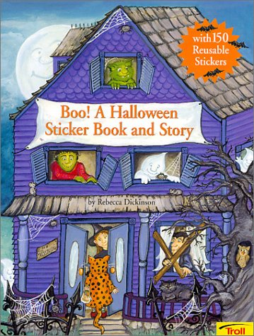 9780816777792: Boo! a Halloween Sticker Book and Story