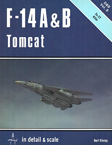 9780816850181: F-14 A and B Tomcat in Detail and Scale (Detail and Scale Vol. 9)