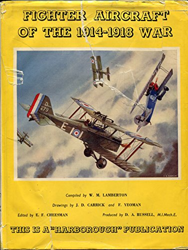 9780816863600: Fighter Aircraft of the 1914-1918 War