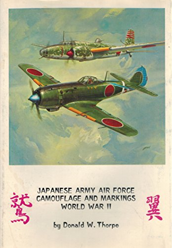 9780816865758: Japanese Army Air Force Camouflage and Markings World War II