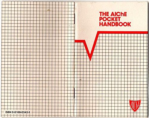 9780816903429: Aiche Pocket Handbook (X 60)