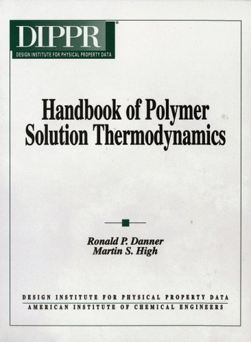 9780816905799: Handbook of Polymer Solution Thermodynamics
