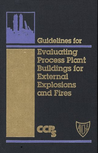 9780816906468: Guidelines for Evaluating Process Plant Buildings for External Explosions and Fires (Center for Chemical Process Safety)