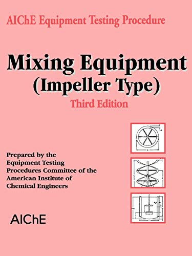 9780816908363: Mixing Equipment Impeller Type