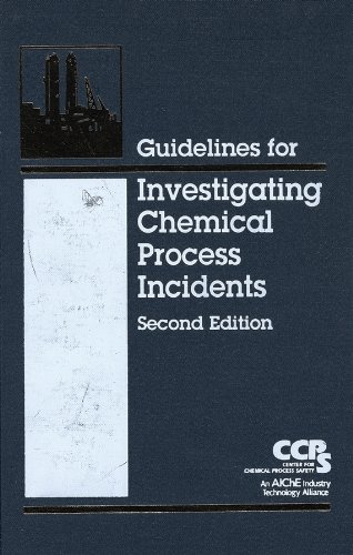 9780816908974: Guidelines for Investigating Chemical Process Incidents