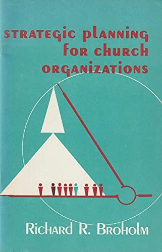 9780817004354: Strategic planning for church organizations
