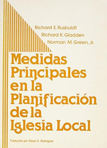9780817009335: Medidas Principales En LA Planification De LA Iglesia Local (Key Steps in Local Church Planning)