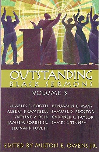 Outstanding Black Sermons: J. Alfred Smith Sr., Milton E. Owens, Walter B. Hoard