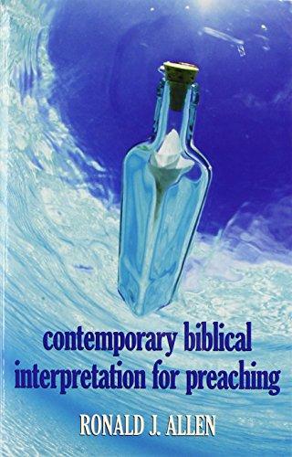 9780817010027: Contemporary Biblical Interpretation for Preaching